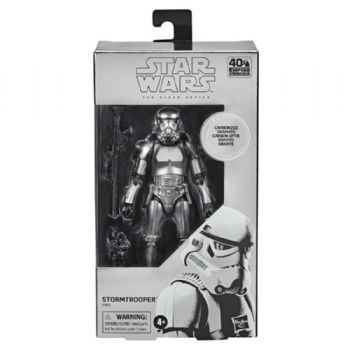 Star Wars The Black Series Carbonised Stormtrooper Action Figure